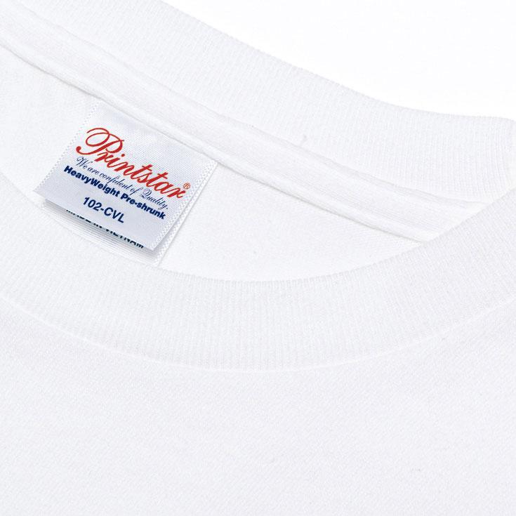 102-CVL 5.6オンス ヘビーウェイト長袖Tシャツ