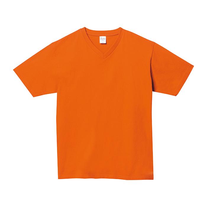 108-VCT 5.6オンス ヘビーウェイトVネックTシャツ
