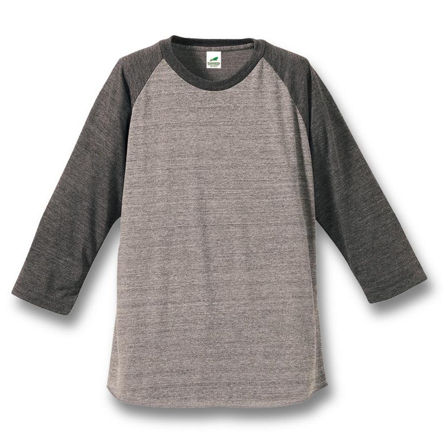 1092-01  トライブレンド ラグラン 3/4スリーブ Tシャツ