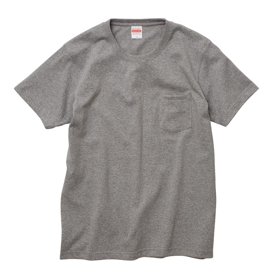 4253-01 オーセンティック スーパーヘヴィーウェイト 7.1オンス Tシャツ(ポケット付)