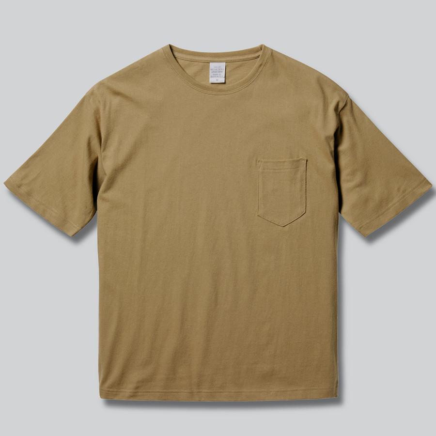 5008-01 5.6オンス ビッグシルエット Tシャツ(ポケット付)