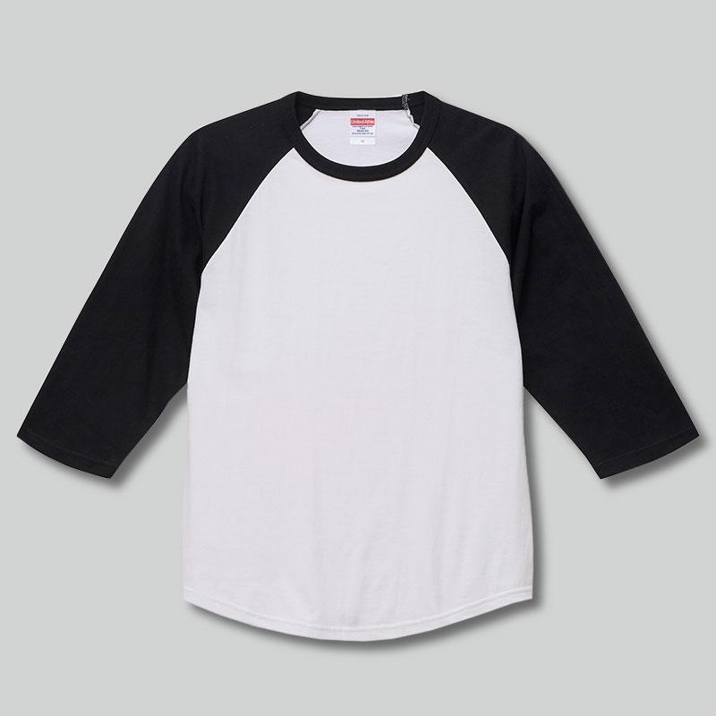 5045-01 5.6オンス ラグラン 3/4スリーブ Tシャツ