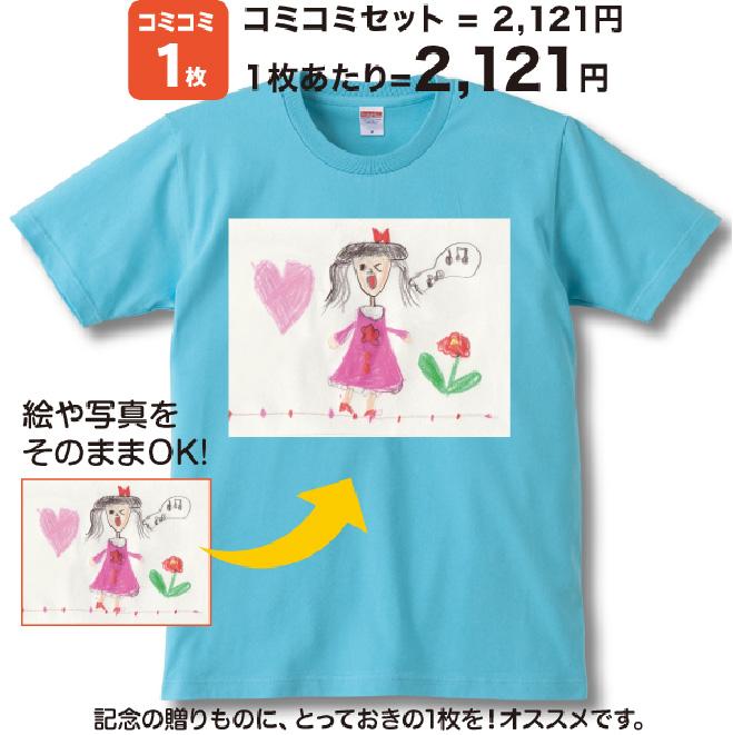 コミコミ!  プレゼントTシャツ