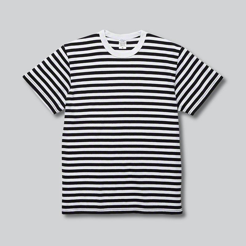 5625-01 5.6オンス ボーダー Tシャツ