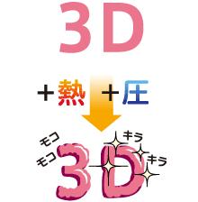 シルク3D版のイメージ